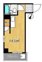 サンライト警固ビル - 所在階 の間取り図