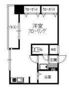 博多桶屋町ビル - 所在階 の間取り図