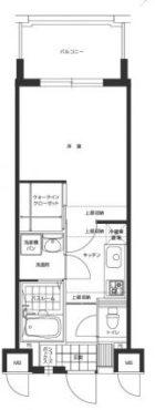 エンクレスト博多駅東 - 所在階 の間取り図