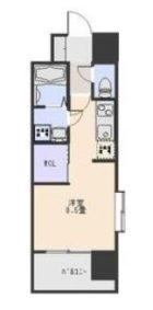 エンクレスト博多駅南III - 所在階 の間取り図