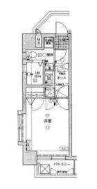 ユーエムライフ赤坂けやき通り - 所在階 の間取り図
