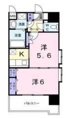 レジデンス20 - 所在階 の間取り図