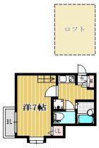 サンライズガーデン博多II - 所在階***階の間取り図 5906