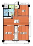 シティマンション平尾II - 所在階***階の間取り図 5967