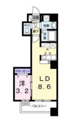 ボヌール高砂 - 所在階***階の間取り図 5975