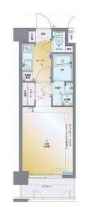 グランフォーレ桜坂ステーションプラザ - 所在階 の間取り図