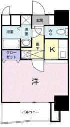 セレーノ・コンフォート大手門 - 所在階 の間取り図
