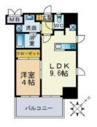 サヴォイ ザ・セントラルガーデン - 所在階 の間取り図