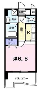 リバーサイド東比恵 - 所在階***階の間取り図 6625