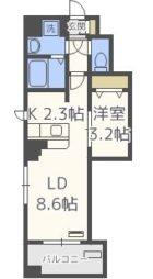 ボヌール高砂 - 所在階***階の間取り図 6683