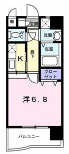 リバーサイド東比恵 - 所在階***階の間取り図 6716