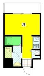 サンマリノビル - 所在階 の間取り図