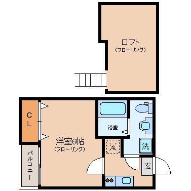 DREAM STAGE N2203号室-間取り