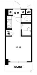 ロマネスクフィオレ香椎 - 所在階2階の間取り図 6875