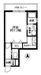 フォレステーション姪浜 - 所在階 の間取り図