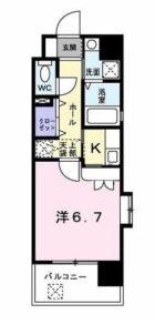 ルービアーレ - 所在階 の間取り図