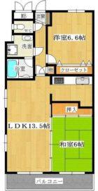 グランビュー薬院 - 所在階 の間取り図
