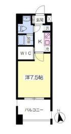 レジデンス箱崎 - 所在階 の間取り図