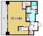 フォーラム美野島 - 所在階 の間取り図