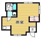 ライオンズマンション大名 - 所在階8階の間取り図 11357