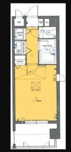 ステイタスマンション長尾 - 所在階 の間取り図