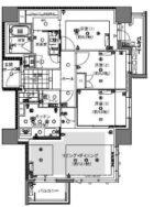 グランドメゾン薬院レジデンス - 所在階 の間取り図