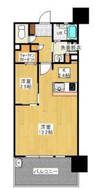ケイコーマンション10 - 所在階***階の間取り図 9571