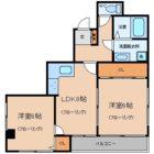 シティガーデン奈良屋 - 所在階 の間取り図