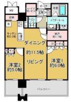 MJR赤坂タワー - 所在階 の間取り図