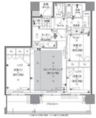 グランドメゾン浄水ガーデンシティフォレストゲートⅡ - 所在階***階の間取り図 9846