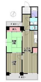 ロワールマンション薬院第2 - 所在階***階の間取り図 10009