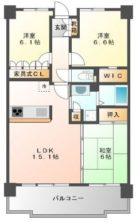 サーパス平尾駅前 - 所在階10階の間取り図 10020