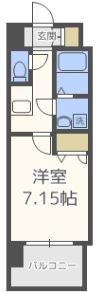 アレクサス イル・ビアンコ - 所在階 の間取り図
