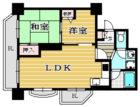 高宮オークマンション - 所在階2階の間取り図 11406