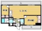 セントラルコート博多駅東 - 所在階2階の間取り図 11449