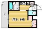 ロマネスク西公園第3 - 所在階2階の間取り図 11451